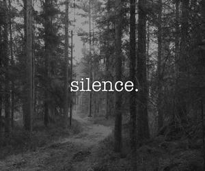 silence, grunge, and black image
