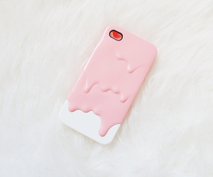 accessories, iphone, and pink image