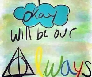 the fault in our stars, harry potter, and always image