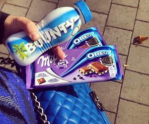 chocolate, drink, and oreo image