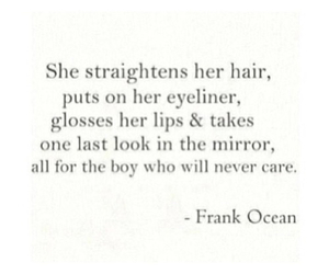 boy, frank ocean, and quote image