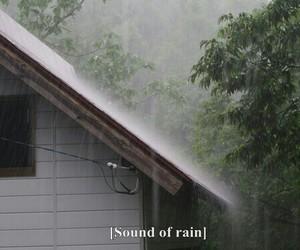 grunge, rain, and sad image