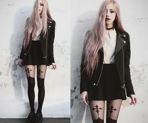 black, punk, and style image