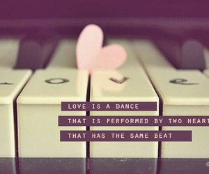 love, quote, and dance image