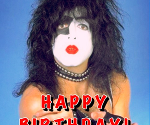 classic rock, happy birthday, and kiss image