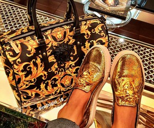 collection 2015 and versace shoes and bag image