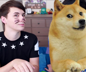 danisnotonfire, dan howell, and doge image