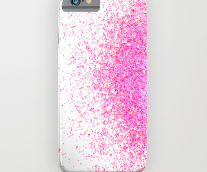 ombre, pink, and sparkle image