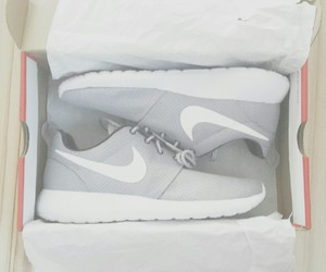 grey, heart it, and nike image