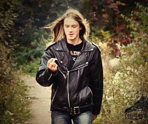 metal, black, and boy image
