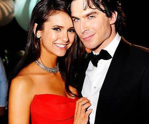 ian somerhalder, Nina Dobrev, and nina image