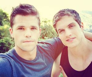 teen wolf, daniel sharman, and max carver image