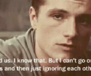 hunger games, josh hutcherson, and catching fire image