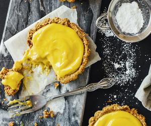 food, mango, and pie image