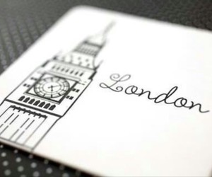 london, Big Ben, and drawing image