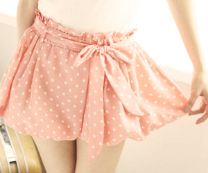 skirt, fashion, and pink image