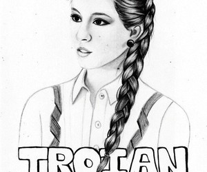 pll, art, and spencer hastings image