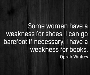 book, shoes, and quote image