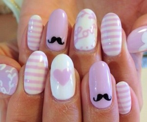 girly, pinky, and hearts image