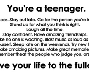 teenager, life, and laugh image