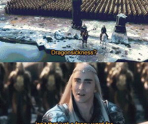thranduil, the hobbit, and thorin image