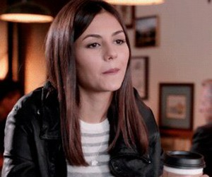 coffee, eye candy, and victoria justice image