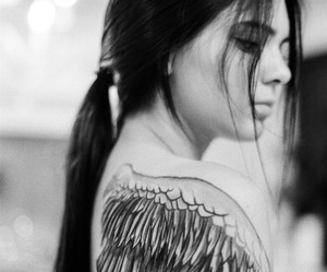 kendall jenner, tattoo, and model image