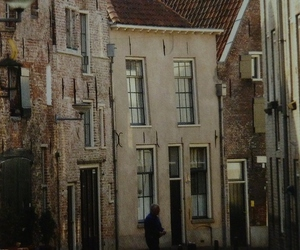 old and high houses image