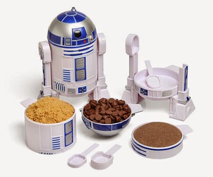 r2d2, kitchen, and star wars image