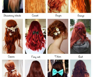 color, love, and hair image