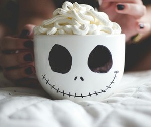 cup, marshmallow, and jack image