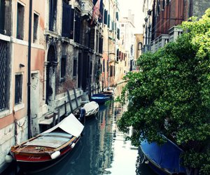 apartment, boat, and italy image