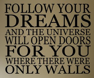 Dream, universe, and doors image