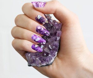 nails, purple, and ametist image