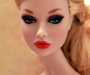 doll, beautiful, and eyes image