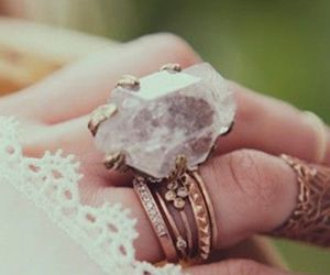 ring, rings, and boho image