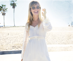 beach, lace, and smile image