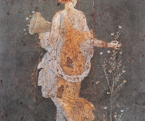 art, flora, and pompeii image