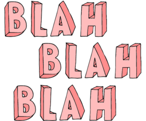 blah, pink, and transparent image