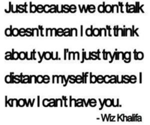 quotes, wiz khalifa, and distance image