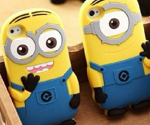 minions, case, and cute image