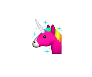 pink, sparkles, and unicorn image