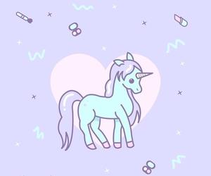 pastel, unicorn, and cute image