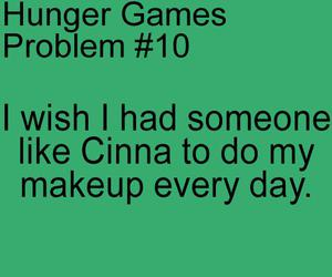 makeup, the hunger games, and cinna image