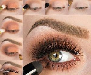 beauty, black, and mascara image