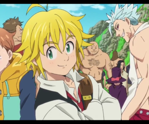ban, king, and nanatsu no taizai image