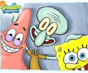 cartoons and spongebob image
