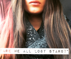 hair, lips, and lost stars image