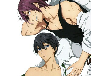 anime, free!, and iwatobi image