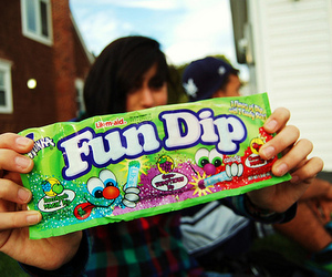candy, fun dip, and photography image